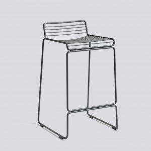 Hee bar stool gris