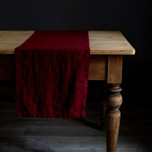 burgundy_washed_linen_table_runner