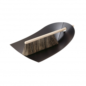 Dustpan and brush black 1